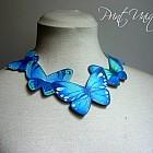 Colier Blue Imago