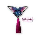 "Brosa ""Papillon"" (deep magenta)"