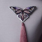 "Brosa ""Papillon"" (roz prafuit)"