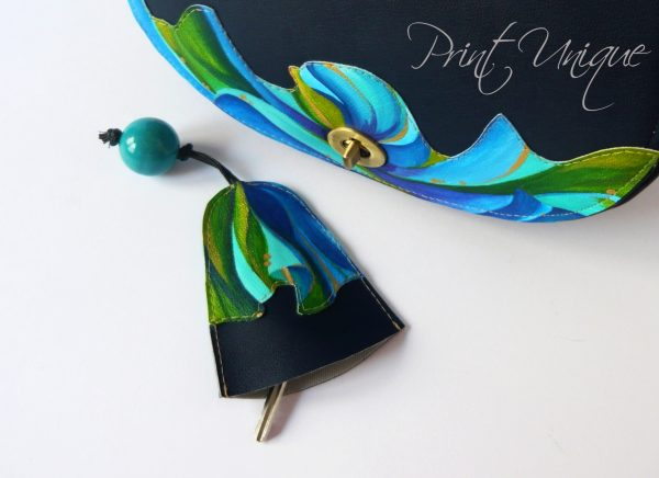 blue abstract poppy2