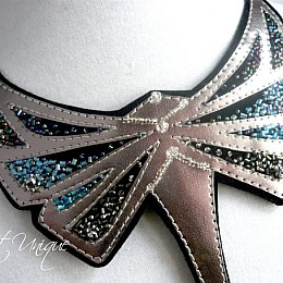 Colier Silver Dragonfly