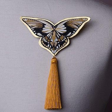 "Brosa ""Papillon"" (ocru)"