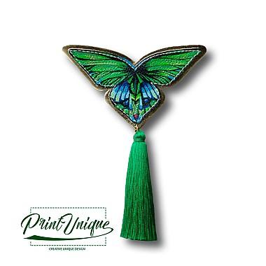 """Brosa """"Papillon"""" (jad)"""