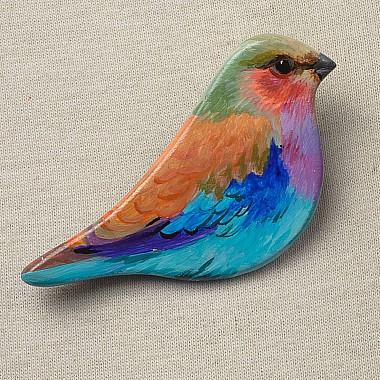 "Brosa pictata ""Willy Bird"""