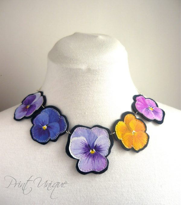 Colier Pansy